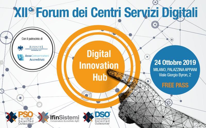 XII Forum dei Centri Servizi Digitali